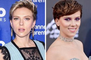 Sztárok, akik drasztikusan megváltoztatták a hajszínüket.