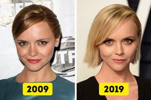 Hírességek akik 10 év alatt nem változtak semmit