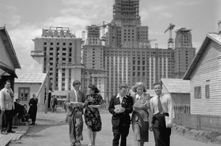 Régi fotók a Szovjetunióból.