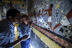 Kitűnő állapotban fennmaradt, 4000 éves sírra bukkantak Egyiptomban