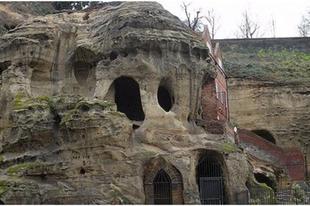 Barlangok Nottingham alatt