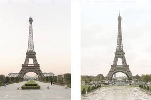 Hogyan néz ki a hamis kínai Párizs az eredetihez képest