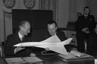 A Concorde, az első szuperszonikus utasszállító repülőgép létrehozása, 1964-1969