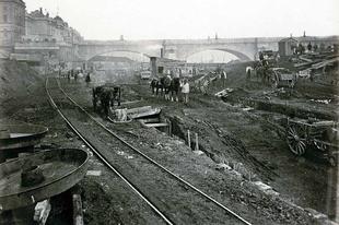 Ritka fotók a londoni metró korai éveiből. 1860 - 1960