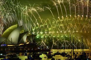Így ünnepelt a világ szilveszter éjjel.