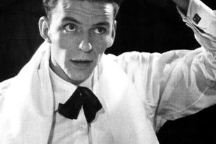 A fiatal Frank Sinatra az 1940-es években.