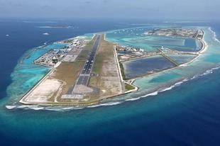 Mesterséges szigeteken található repülőterek