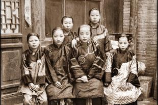 75 Csodálatos helyreállított régi fénykép Kínából.