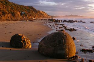 A Moeraki sziklák