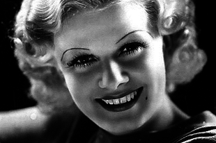 Jean Harlow, az 1930-as évek egyik legnagyobb szexszimbóluma.