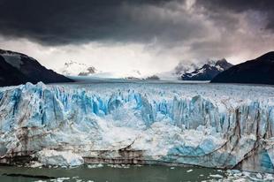 A Perito Moreno-gleccser.