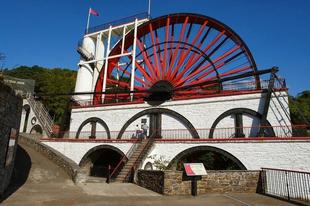 A Laxey Wheel a legnagyobb működő vízikerék a világon.