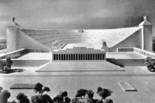A nürnbergi Deutsches Stadion.