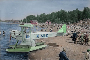 Színes fotókon a 20. század eleji Finnország.