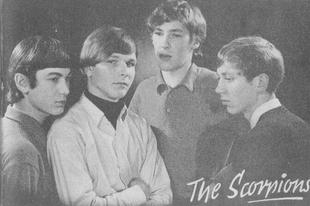 Legendás rockzenekarok karrierjük elején.