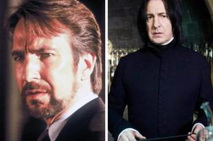 Harry Potter filmsorozat szereplők fiatalon és a filmben