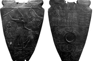 A Narmer-paletta.
