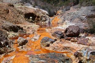 A Rio Tinto, a vörös folyó.