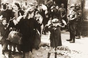 Zsidó gettók a második világháború alatt.