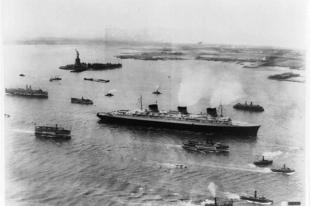 Az SS Normandie francia óriás óceánjáró