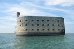 Fort Boyard erőd.