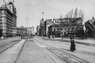 New York a 19. század végén.