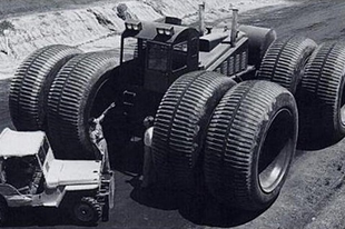 A TC-497 Overland Train Mark II. a világ leghosszabb terepjárója
