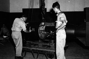A Hirosimára és Nagaszakira dobott atombombák.