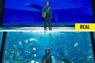 20 filmjelenet a speciális effektek előtt és után