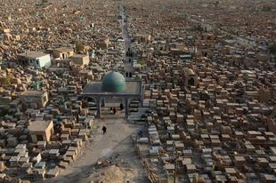 Wadi Al-Salaam - a világ legnagyobb temetője