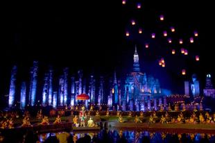 Loi Krathong fesztivál Thaiföldön