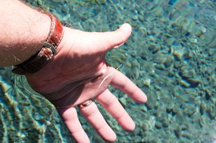 Blue Lake a világ legtisztább tava Új-Zélandon.