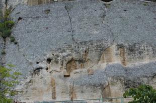 A madarai lovas sziklarelief.