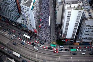 15 kép a tüntetésről, ami bizonyítja, hogy Hongkongban egész más a kultúra.