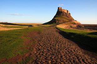 A Lindisfarne sziget.
