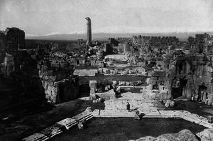 Baalbek város és a rejtélyes baalbeki terasz