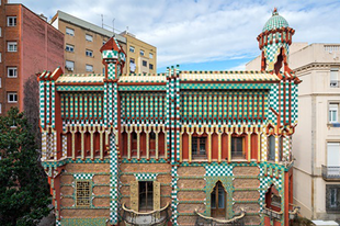A Casa Vicens Barcelonában