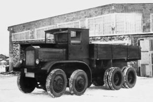 Szokatlan többkerekű szovjet autók Szokatlan többkerekű szovjet autók