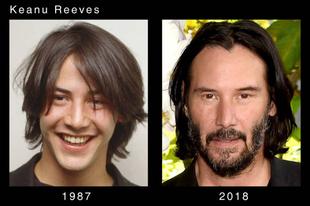 Hollywoodi szinészek változásai az évek során