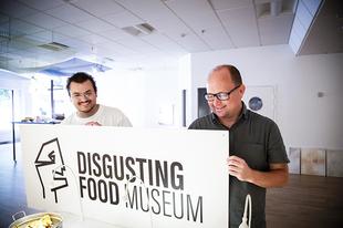 Undorító ételek múzeuma Malmöben.