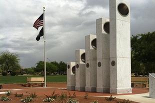A Veteránok Emlékműve Arizonában