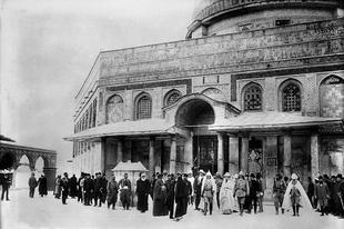 Jeruzsálem az Oszmán megszállás idején.