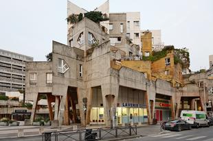 Brutalista építmények Franciaországban