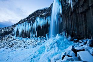 Európa legnagyobb gleccsere Izlandon.