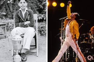 20+ fotó hírességekről, amikor még gyerekek voltak és most.