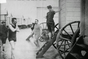 A Fürdőgép, a 19. századból.