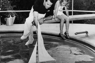Szép képek Henry Fondaról és gyermekeiről. 1940-1980.