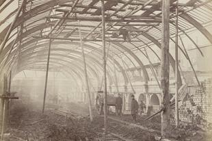 A Metropolitan Railway első vonalának építése, 1861.