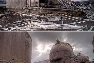 Elhagyott helyek az Antarktiszon