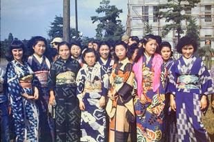 Japán a szövetséges megszállás idején, 1948 és 1950 között.